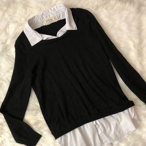 Longsleeve collar blouse